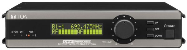 wireless microphone receiver